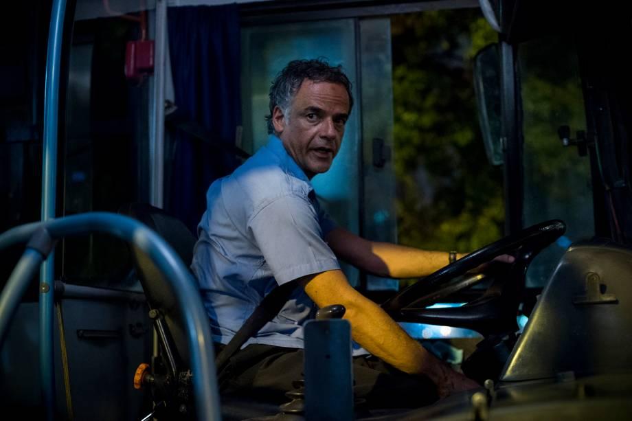 Waldyr (Angelo Antonio) em cena da série 'Justiça', da TV Globo