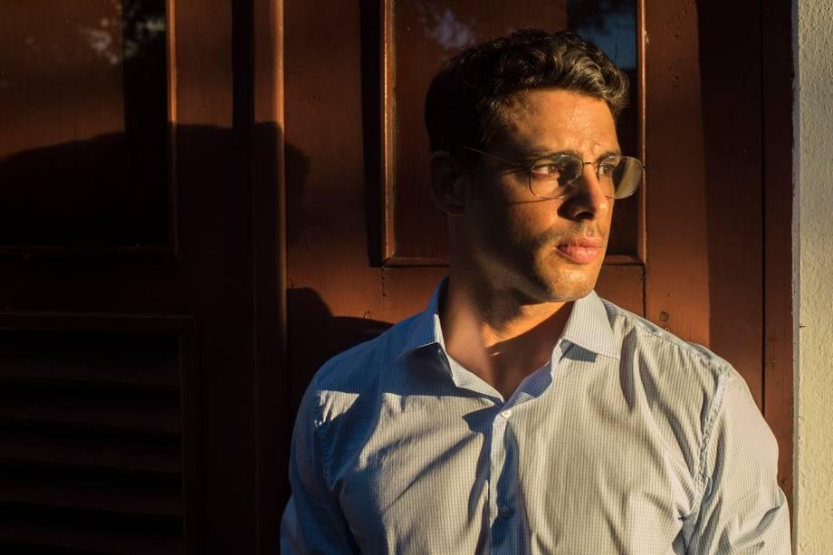 Mauricio (Cauã Reymond), em cena da série 'Justiça', da TV Globo