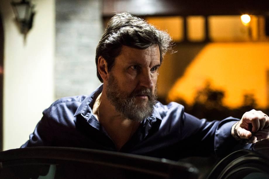 Antenor (Antonio Calloni) em cena da série 'Justiça', da TV Globo