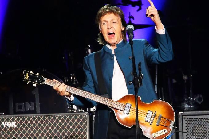 O cantor Paul McCartney