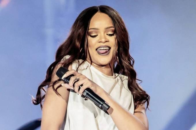A cantora Rihanna