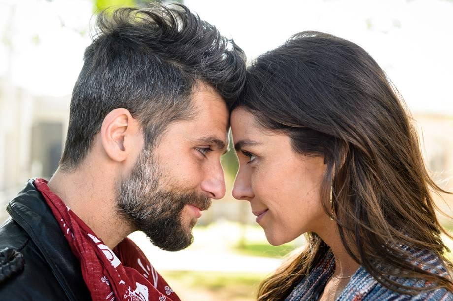 Giovanna Antonelli e Bruno Gagliasso em cena da novela 'Sol Nascente'
