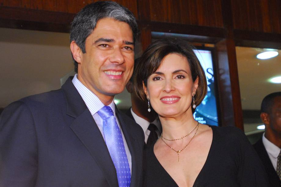 William Bonner e Fátima Bernardes, em 2009