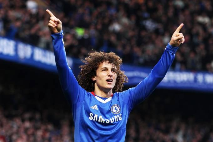 O jogador David Luiz