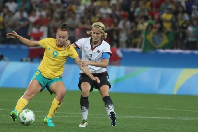 Futebol Feminino: Alemanha x Austrália