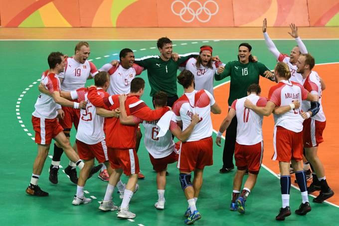 Final handebol masculino: França x Dinamarca