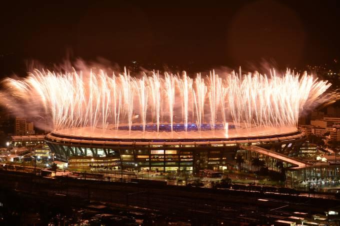 Cerimônia de encerramento Rio-2016