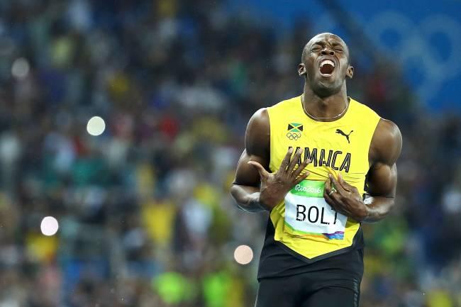 Atletismo 200m rasos - Usain Bolt