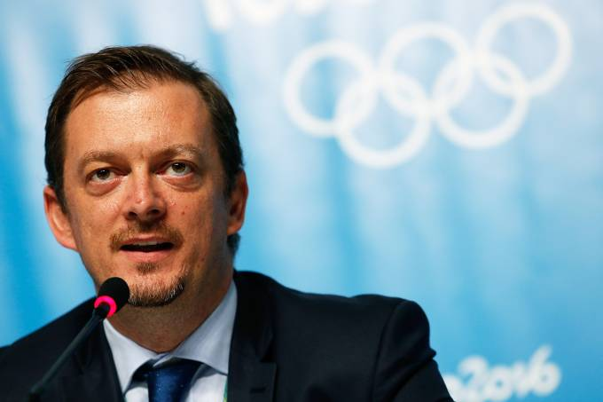 O presidente do Comitê Paralímpico Brasileiro, Andrew Parsons