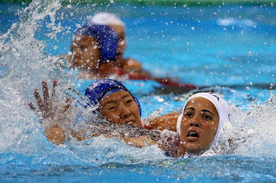 Brasil perde para a China por 10 a 5 no polo aquático feminino, e termina a competição na oitava posição - 19/08/2016