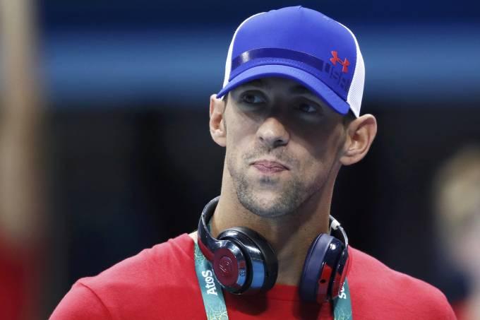 O nadador americano Michael Phelps