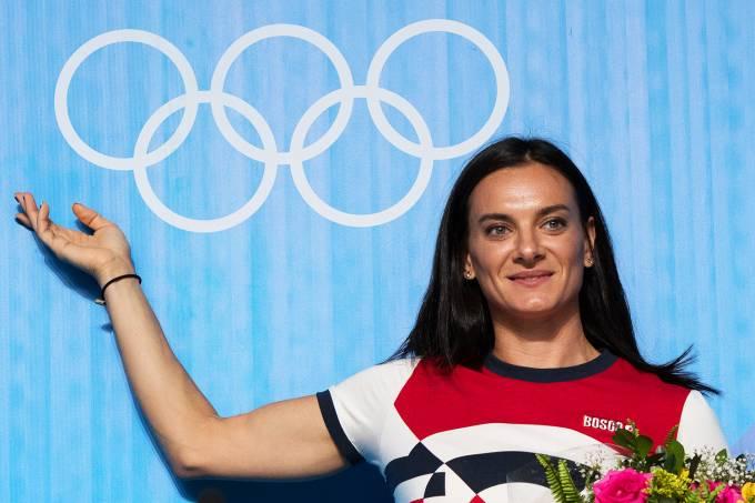 A atleta russa Yelena Isinbayeva