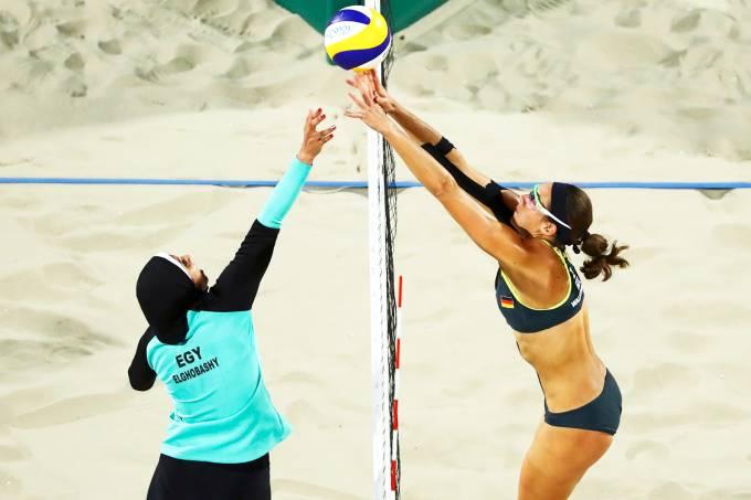 Rio-2016: Vôlei de praia feminino – Egito x Alemanha