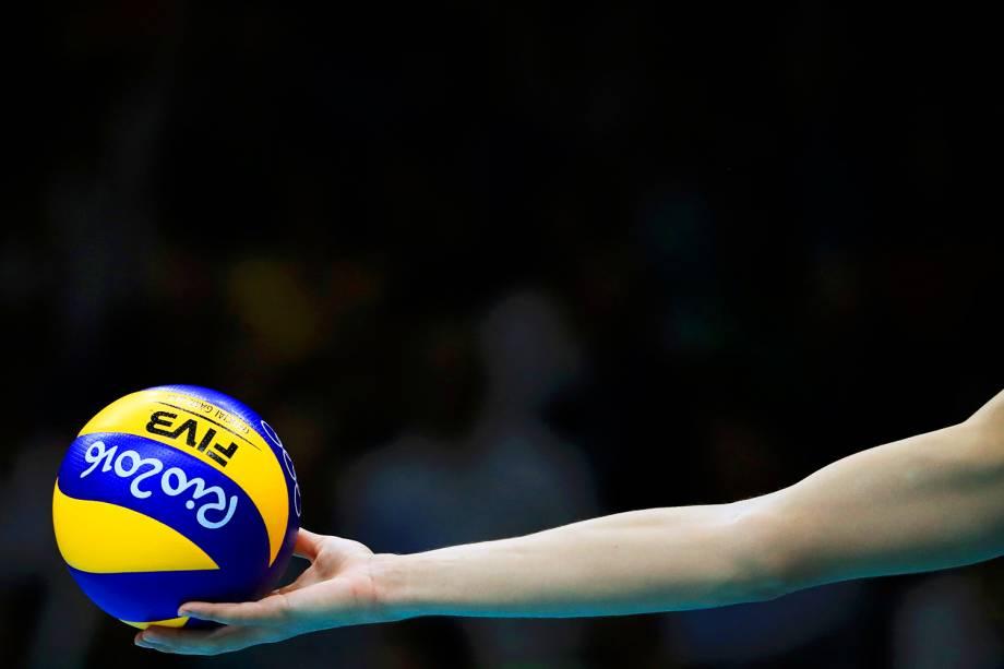 Partida entre Brasil e Itália, válida pela disputa da medalha de ouro no vôlei masculino, realizada no Maracanãzinho - 21/08/2016