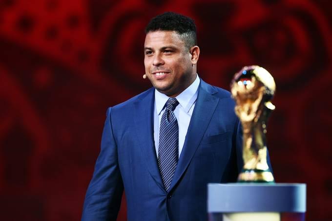 O ex-jogador de futebol Ronaldo