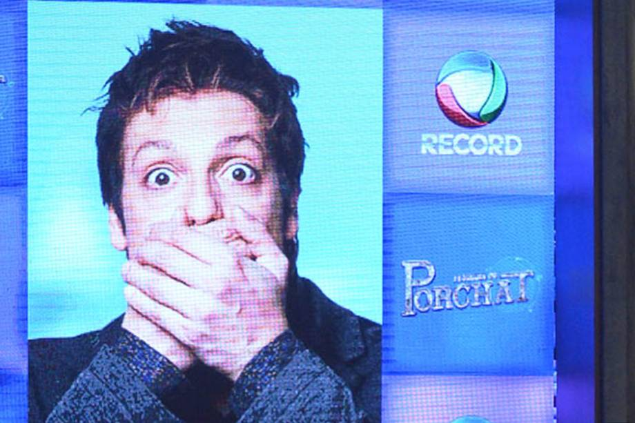 """Fábio Porchat abriu coletiva de imprensa no estúdio do seu novo programa de televisão """"O Programa do Porchat"""""""