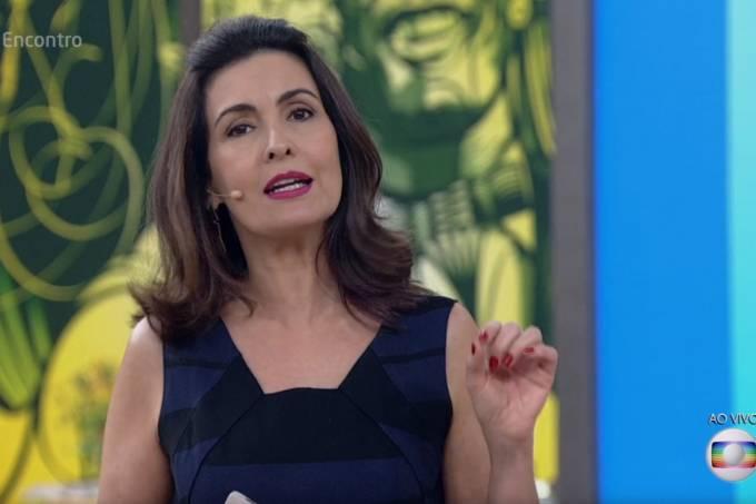 Fátima Bernardes no 'Encontro' desta segunda, 29 de agosto
