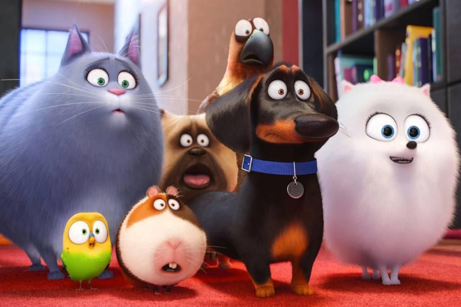Filme Pets - A vida secreta dos animais