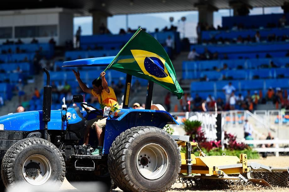 Público assiste à disputa de medalhas na final da prova de hipismo pelos Jogos Olímpicos Rio-2016 - 17/08/2016