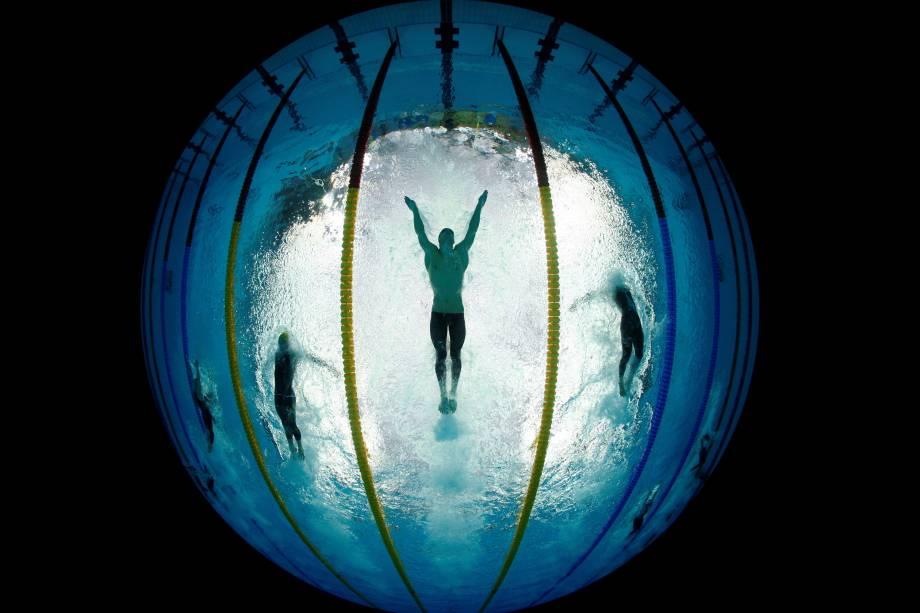 Atletas de natação treinam para a Olimpíada Rio 2016 - 01/08/2016