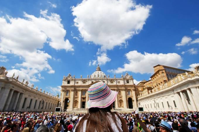 Imagens do dia: Oração de Angelus no Vaticano