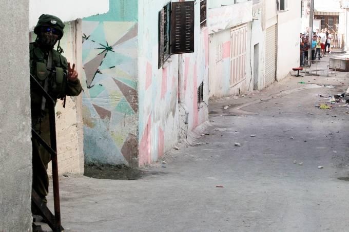 Imagens do dia: Conflito na Palestina