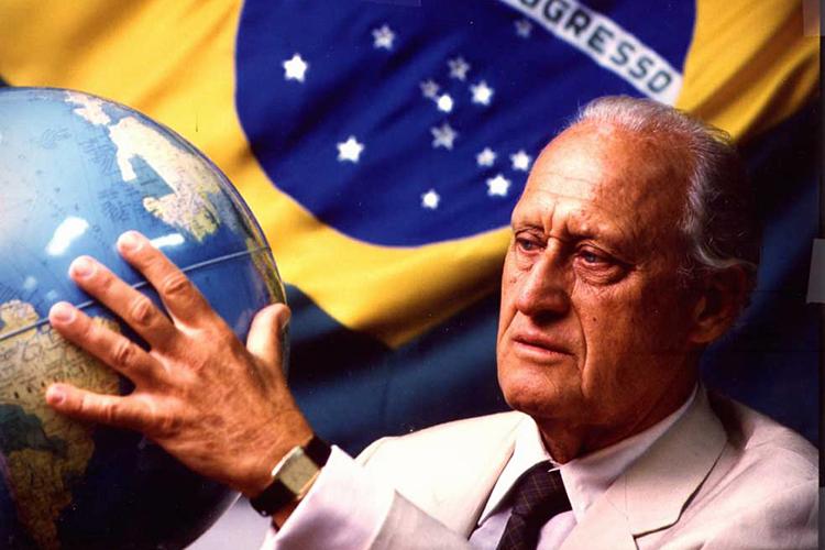 João Havelange, ex-presidente da Fifa - 01/08/2007