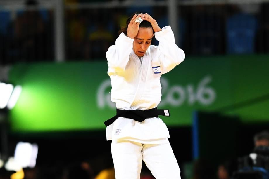 Judoca lamenta derrota na Arena Carioca 2 - 07/08/2016