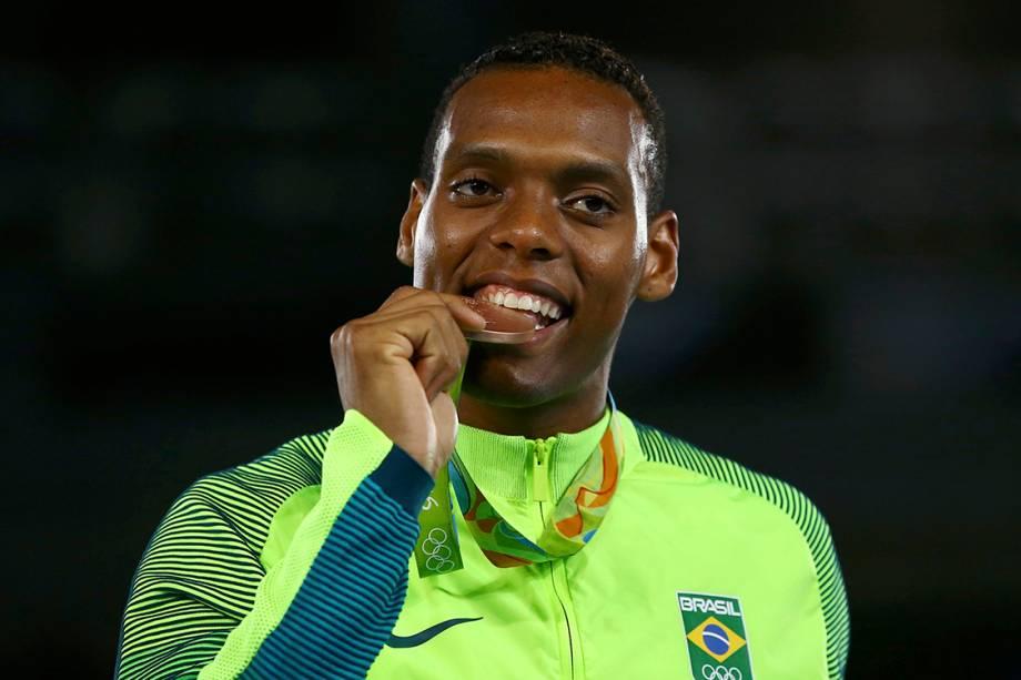 Maicon Siqueira garante o bronze no Taekwondo na categoria acima de 80kg