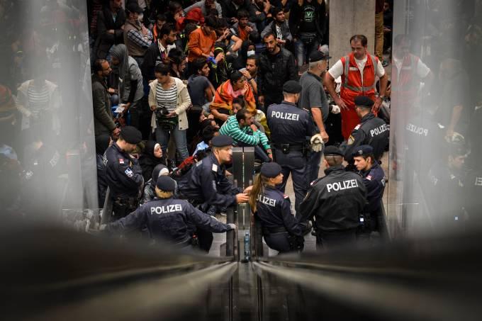 Refugiados na Áustria