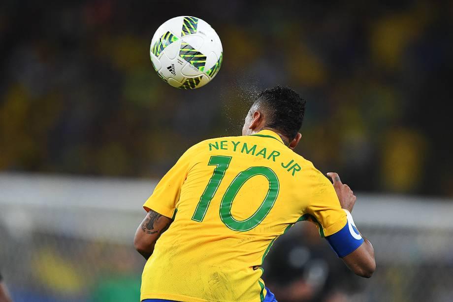 Neymar durante a final contra a Alemanha