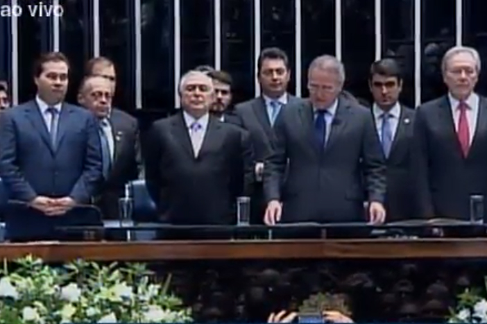 Após impeachment de Dilma, Temer toma posse como presidente da República