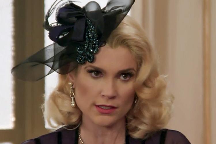 Flávia Alessandra interpreta a vilã Sandra em 'Êta Mundo Bom!'