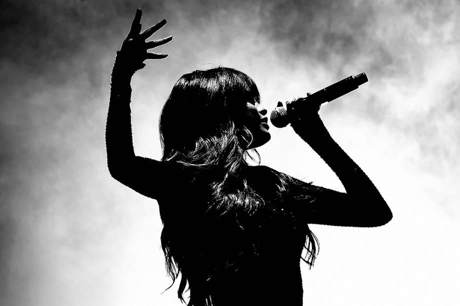 A cantora Selena Gomez, realiza apresentação no Staples Center, na cidade de Los Angeles, Califórnia (EUA) - 08/07/2016