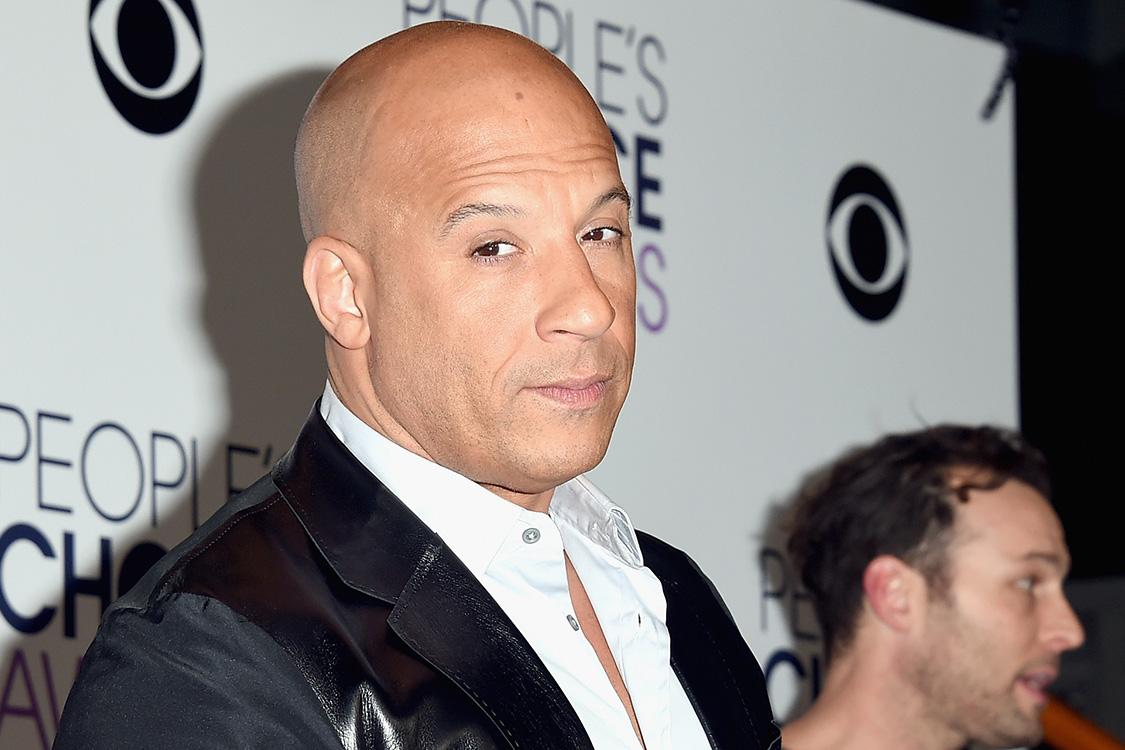 O ator Vin Diesel durante evento na Califórnia