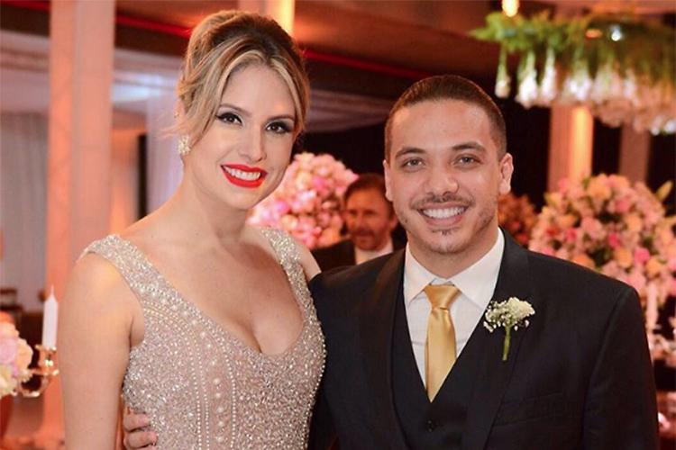 Wesley Safadão e a esposa Thyane Dantas