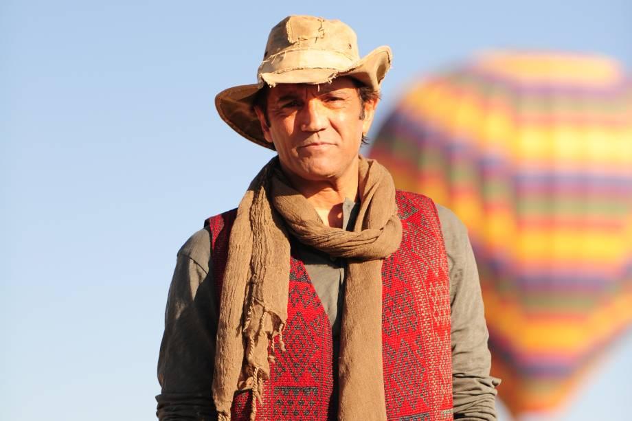 Zyah (Domingos Montagner) na novela 'Salve Jorge' em 2012