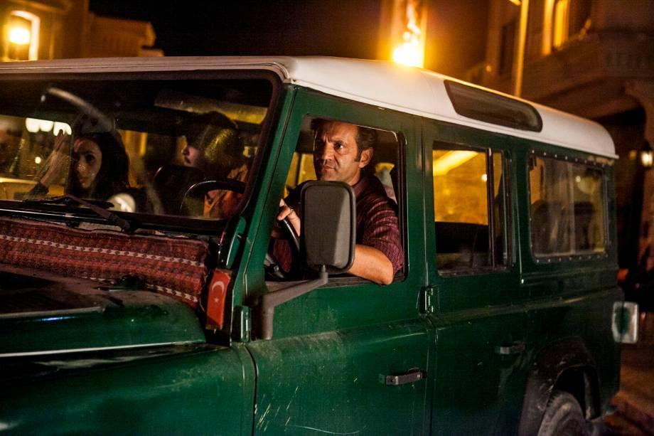 Zyah (Domingos Montagner) na novela 'Salve Jorge' em 2013