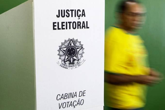 Cabine de votação – Eleições