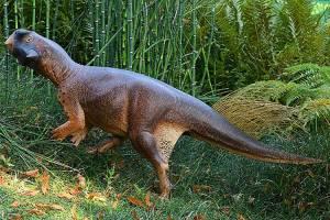 Reprodução é baseada em estudos de um fóssil de dinossauro na China, com a pele sendo preservada