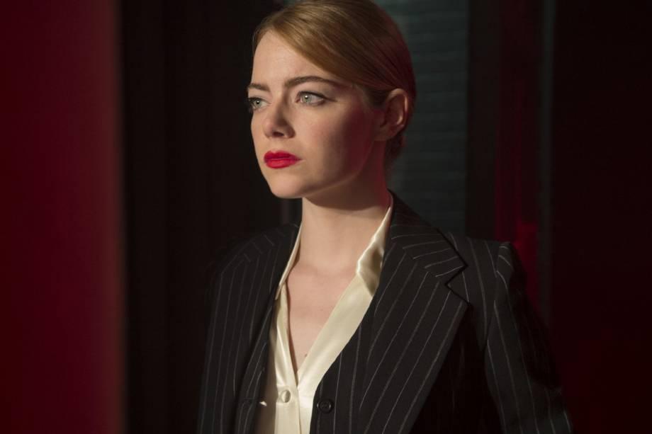 Mia (Emma Stone) em cena do filme 'La La Land'