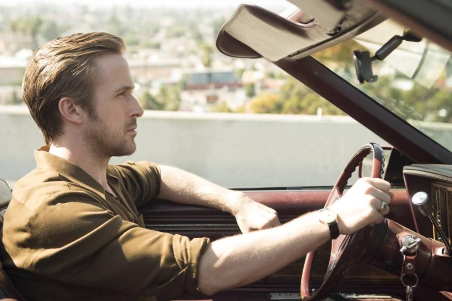 Sebastian (Ryan Gosling) em cena do filme 'La La Land'