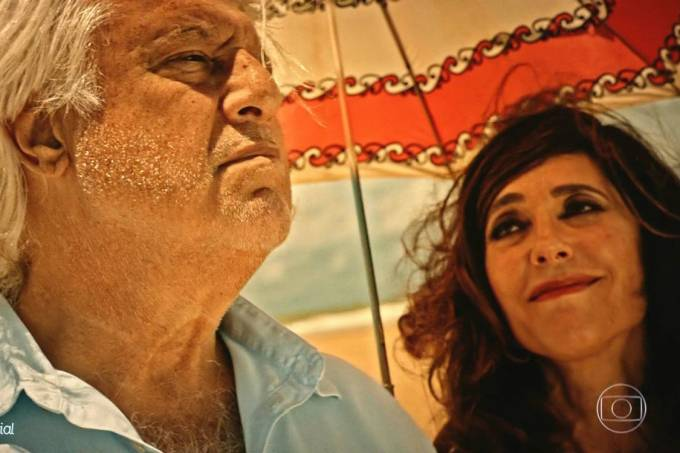 Afrânio (Antonio Fagundes) e Iolanda (Christiane Torloni) no capítulo final de 'Velho Chico'
