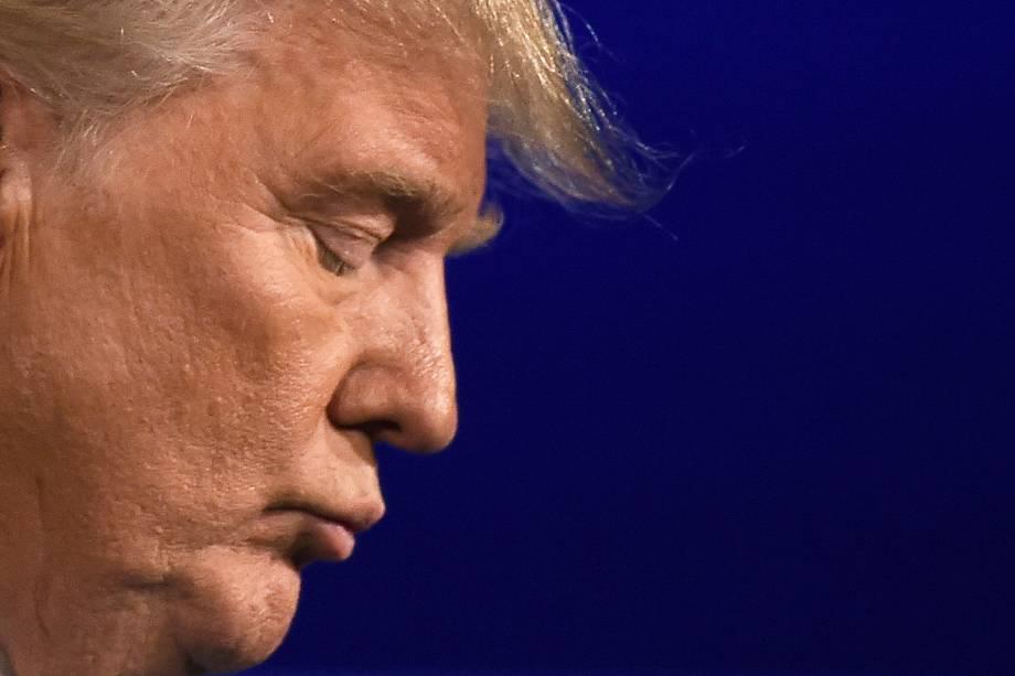 Republicano Donald Trump, candidato à presidência durante debate nos Estados Unidos - 26/09/2016