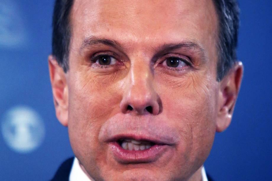 João Doria (PSDB) durante o debate dos candidatos à Prefeitura de São Paulo