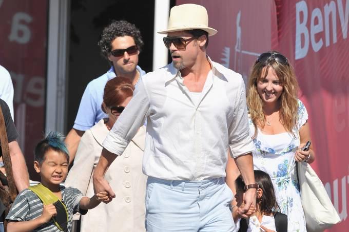 Os filhos de Angelina Jolie e Brad Pitt