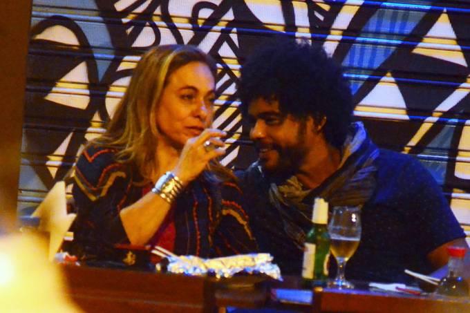 Cissa Guimarães e Diogo Almeida