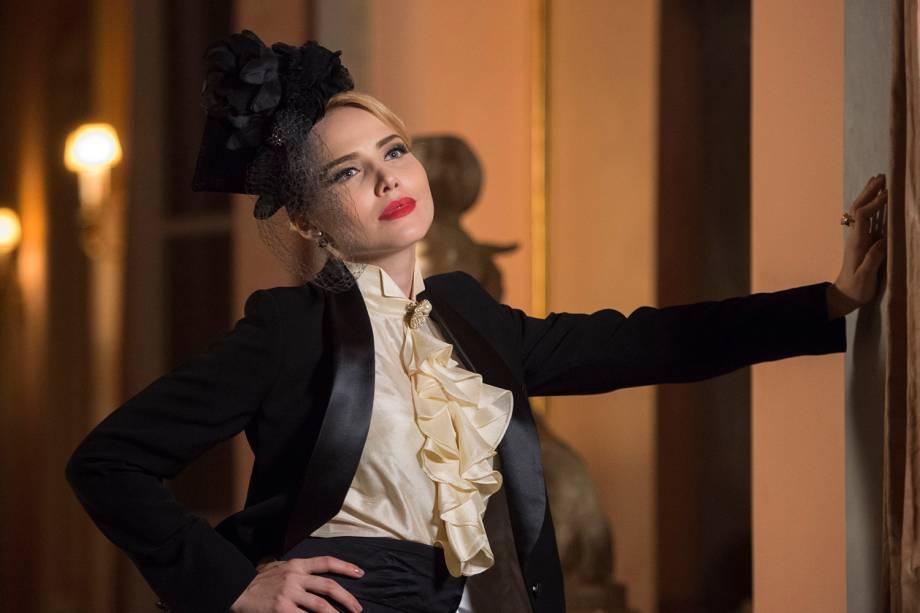 Júlia (Letícia Colin), em cena da minissérie 'Nada Será Como Antes'