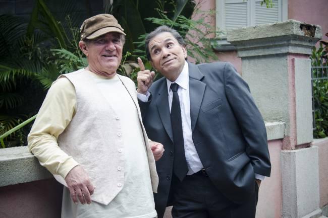 Didi (Renato Aragão) e Dedé (Dedé Santana)