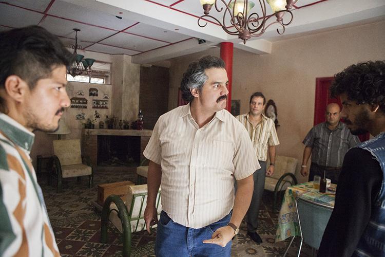 Pablo Escobar (Wagner Moura), em cena da segunda temporada de 'Narcos', série exibida pela Netflix